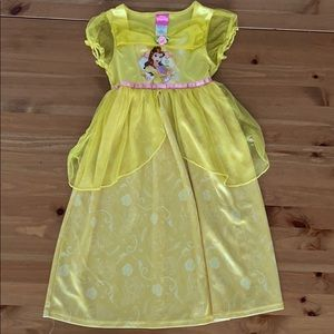 $5❗️Disney Princess Nightgown Pajamas dress Belle